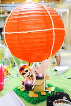 Clash of Clans- Centerpiece, Party Ideas, Balloon