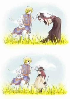 Kurapika and Melody        ~Hunter X Hunter