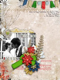 Under the Mistletoe by Studio Basic Designs and Meghan Mullens Font: Stamping Nico Quote by Michael Xavier