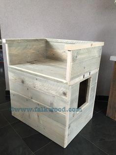 Kattenbak ombouw | Falkwood Maatwerk | Falkwood
