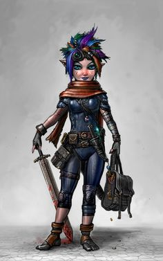 The Crazy-Prepared Gnome by SirTiefling on DeviantArt