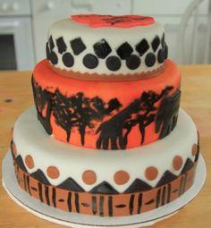 african wedding cakes history of wedding cake African Wedding Cakes, African Wedding Theme, African Theme, African Weddings, Traditional Wedding Cake, Traditional Cakes, Africa Cake, Easy Minecraft Cake, Jungle Cake