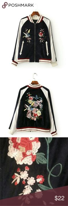 Warm Embroidered Jacket New Without Tags. Never Been Worn. Amerasian Apparel Jackets & Coats