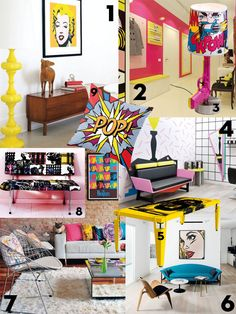 Interieurtrend: Popart - Residence