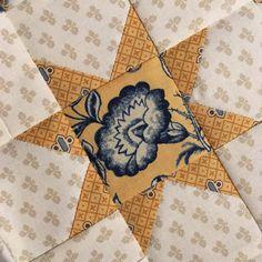 ⭐️ #quilt #patchwork #reproductionfabrics #civilwarquilt #countrysunshine