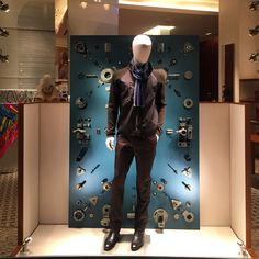 Taiwan Hermès window display for men's universe. By Luxurylogico curated by AM creative