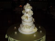 Wedding cake at Germania Place in Chicago on 4-6-13