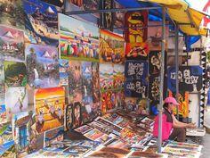 Mercado de artesanías de Otavalo (Ecuador) | Txemi ...en las afueras de Bilbao