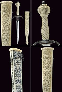 A dagger in Renaissance style.    provenance: Germany dating:  19th Century