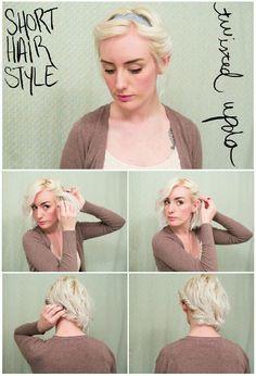 Opsteken met haarband