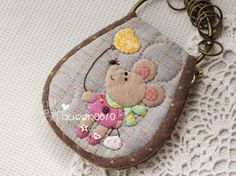 Fabric Purses, Fabric Scraps, Applique Quilts, Embroidery Applique, Key Fobs, Key Chain, Key Pouch, Frame Purse, Diy Keychain