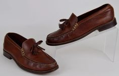 Cole Haan Shoes Women's Size 8.5 M Brown Leather Tassel Loafers #ColeHaan #LoafersMoccasins #Casual