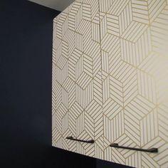 Rumsey Striped Hexagon L x W Geometric Peel and Stick Wallpaper Roll Wallpaper Roll, Peel And Stick Wallpaper, Modern Cottage, Decorative Pillows, Studio, Decorative Throw Pillows, Throw Pillows, Study, Decor Pillows