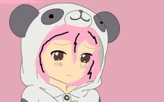 Lily she loves pandas' but she was left at her southern home. Power- can control animals Age- 13 (My drawing)