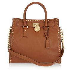MICHAEL Michael Kors Hamilton Whipped leather tote