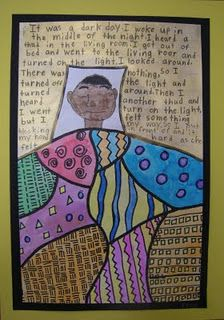 klimpt inspired sleeping person, story and pattern quilt