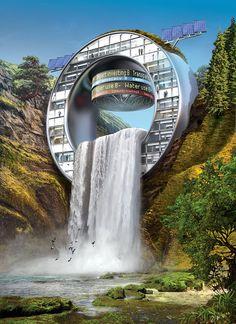 Wasserfall von Igor Morski