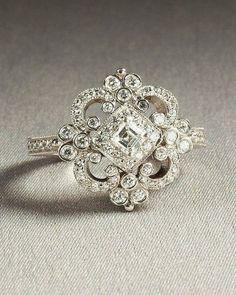 Wish | Vintage / Heirloom Engagement Ring