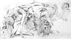 Hannah Adamaszek | Drawing for a painting
