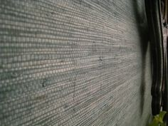 charcoal grasscloth wallpaper