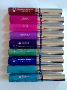 Jordana, Jordana Dramatic Effects Mascara, colored mascara via neversaydiebeauty.com