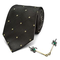 Fantastic Beasts Percival Tie and Pin Set - Exclusive