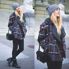 Three Floor Jacket, Rebecca Minkoff Bag, Zara Booties