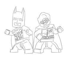 Lego Batman Coloring Page  Coloring Pages  Pinterest  Coloring