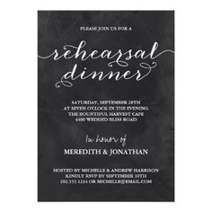 Elegant Rehearsal Dinner Invite today price drop and special promotion. Get The best buyHow to Elegant Rehearsal Dinner Invite Online Secure Check out Quick and Easy. Whimsical Wedding Invitations, Chalkboard Wedding Invitations, Dinner Party Invitations, Destination Wedding Invitations, Wedding Invitation Design, Custom Invitations, Wedding Stationery, Wedding Rehearsal, Rehearsal Dinners