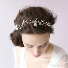 bridal headpieces leaves - Google Search