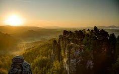 Image result for alpine forest cliff