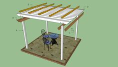 Pergola plans free | HowToSpecialist - How to Build, Step by Step DIY Plans