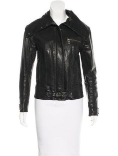 Ted Baker Leather Moto Jacket