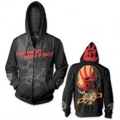 Five Finger Death Punch Custom Knucklehead Hoodie