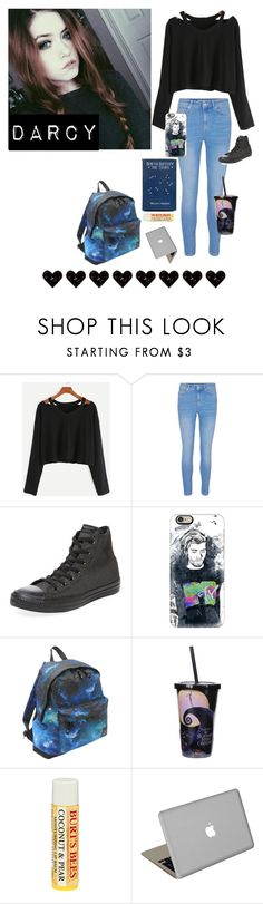 """Darcy"" by princessmaniac-5sos ❤ liked on Polyvore featuring Converse, Casetify, Hot Tuna, Disney, Burt's Bees and Valentine Goods"