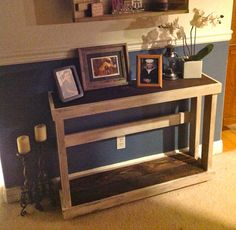 Rustic Country Primitive Handmade Console Table by RemadeAmerica, $200.00