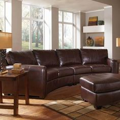 curved couch with recliners - Google Search