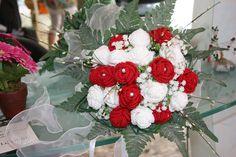 Wedding Bouquet Crochet, bouquet uncinetto