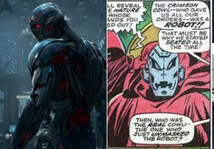 Ultron - The Avengers' First Comic Book Appearances - Photos
