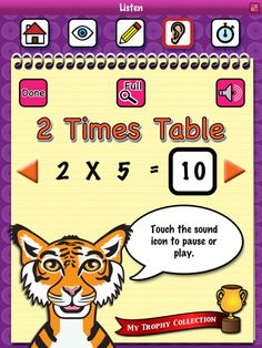 ★ FREE APP; Times Tables - One of 50 free apps featured in the Free Teacher Resources Blog; http://allfreeteacherresources.blogspot.com.au/p/free-apps.html