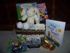 Bless a child and his/her family - buy a raffle ticket to give them a chance to win this family Easter Basket & benefit a great cause at the same time!