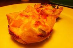Mini quiche met zalm