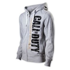 Sudadera con capucha Call of Duty Advanced Warfare Estupenda sudadera en color gris perteneciente al popular videojuego Call of Duty.