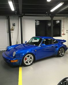 A 964 with an S on its chest | Cr: Unknown #cult911 #porscheartdaily #porsche #porsche911 #porsche964 #964turbos #911turbo #porscheturbo #964turbo #widebody964