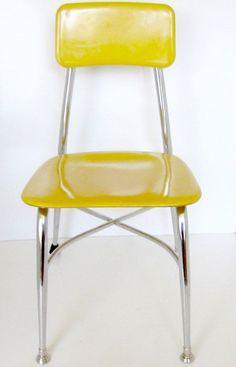 Vintage School House Chair   Industrial School House Chair Fiber Glass By  Nanascottagehouse, $45.00