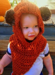 Ewok Hat by JHCrafter on Etsy