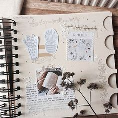 'Another page of my bullet journal' © spreadparticles, by Joh ! ⚘ #bujo #bulletjournal #studygram #spring #craft #kinfolk