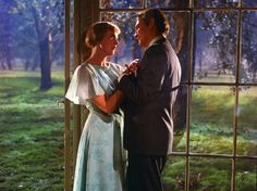 PHOTO: Julie Andrews and Christopher Plummer are seen here in a scene from the 1965 film The Sound of Music.
