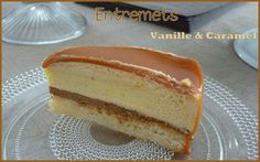 Entremets vanille caramel3