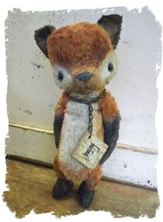 Vintage Inspired Fox From Whendis Bears